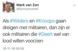 Mark van Zon is een sneue eikel